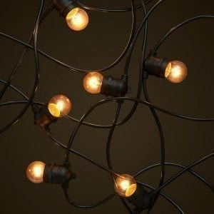Party Festoon Lighting - 15W Small Clear Light Globes