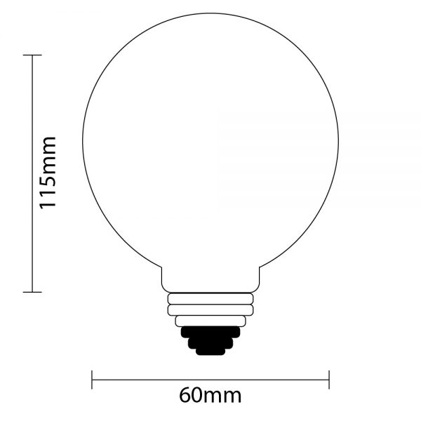 A19 Fancy Festoon Light Globe Specifications