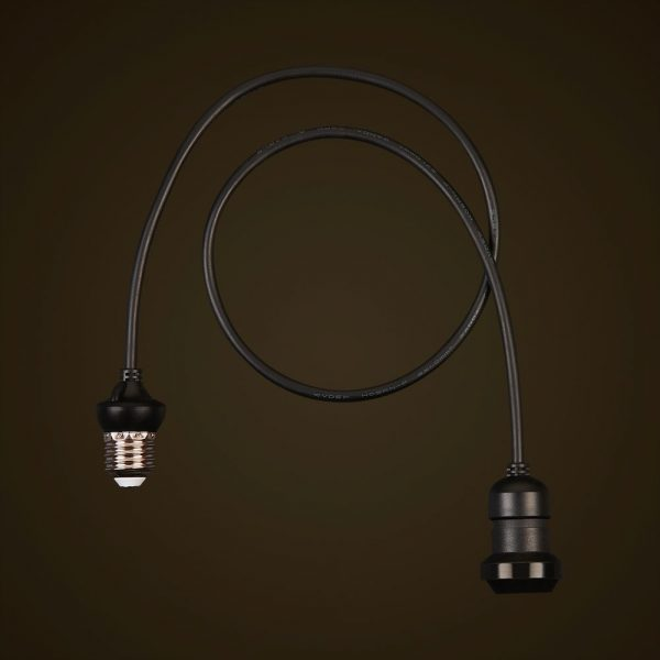 Black Festoon Edison Dropper 2
