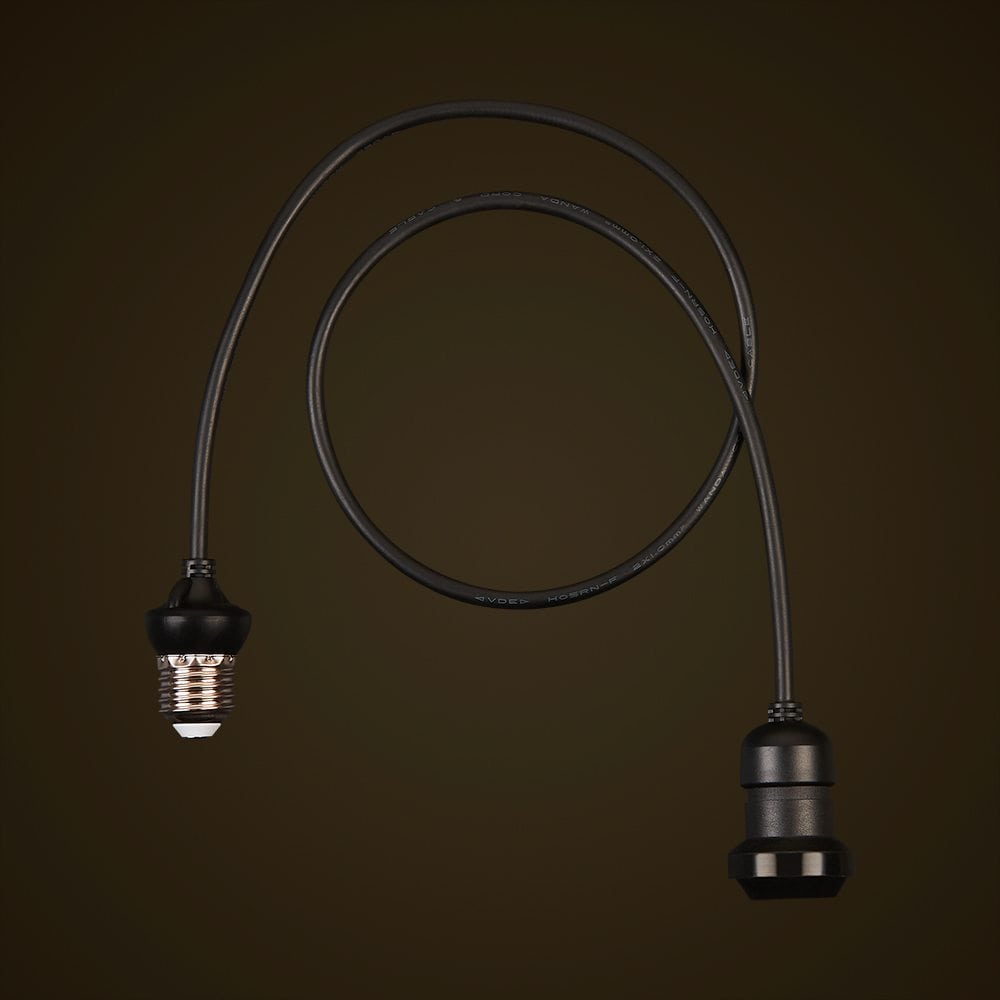 String Lights E27 : Festoon Edison Droppers - E27 Extendable String Light Drop - IP44 Rated