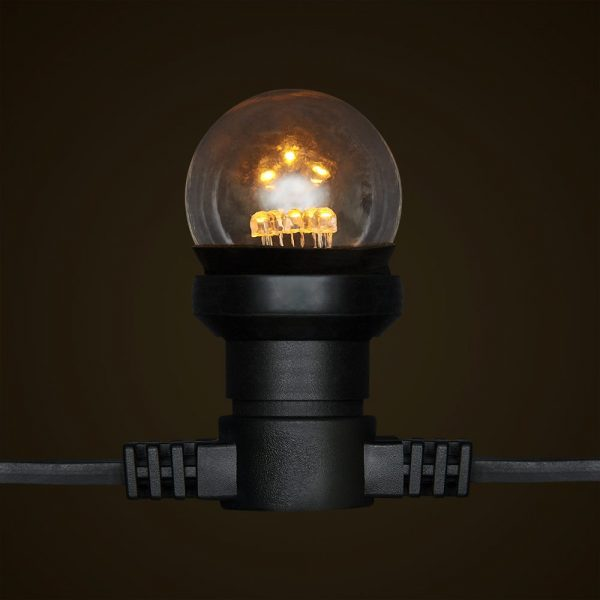 Low Voltage Festoon - G45 LED Globe and Socket