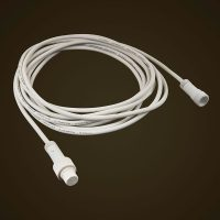 White 5M Extension Cord - Standard Commercial