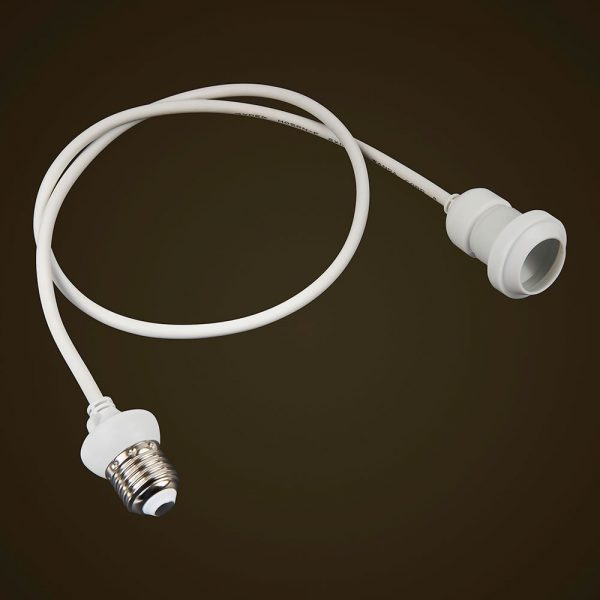White Festoon Edison Dropper 1