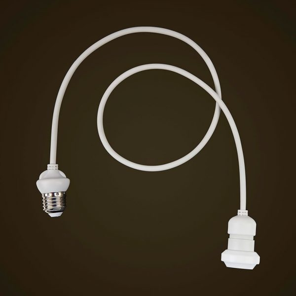 White Festoon Edison Dropper 2