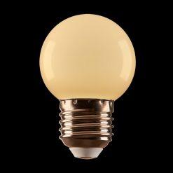 1W - G45 White Festoon LED Globe