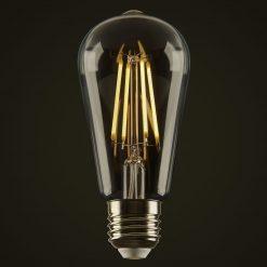 4W Teardrop LED Edison Globe
